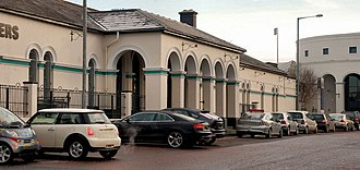 Coleraine railway station - Image: Coleraine station geograph.org.uk 2223803
