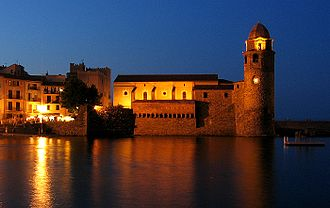 Collioure - Image: Collioure church