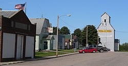 Colon, Nebraska S side Spruce Street.JPG