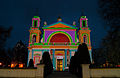 Coloured church of Saint Anne in Wilanow (8510358875).jpg