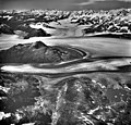 Columbia Glacier, Valley Glacier, Distributary and Calving Distributary, Kadin Lake, September 3, 1966 (GLACIERS 969).jpg