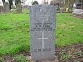 Commonwealth War Grave in Jarrow Cemetery (WW1-03) - geograph.org.uk - 1603324.jpg