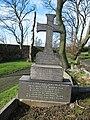 Commonwealth War Grave in Jarrow Cemetery (WW1-23) - geograph.org.uk - 1603918.jpg