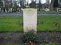 Commonwealth War Grave in Jarrow Cemetery (WW2-20) - geograph.org.uk - 1604875.jpg