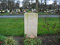 Commonwealth War Grave in Jarrow Cemetery (WW2-47) - geograph.org.uk - 1605442.jpg