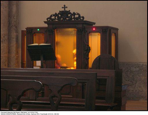 Confessionale Basilica Sant'Ambrogio Milano by Maurizio OM Ongaro DSCN6184