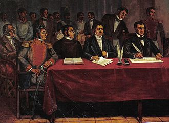 Timeline of Mexican history - Congress of Chilpancingo