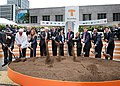 Congresswoman Pelosi at the groundbreaking of the Transbay Transit Center Project (7677797592).jpg