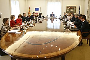 Image result for Council of Minister spain