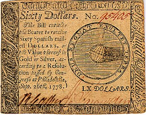Continental Currency $60 banknote obverse (September 26, 1778).jpg