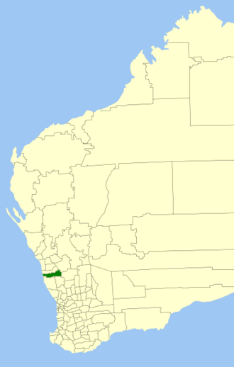 Shire of Coorow - Location in Western Australia