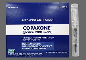 Teva Pharmaceutical Industries - Copaxone, a Teva patented drug