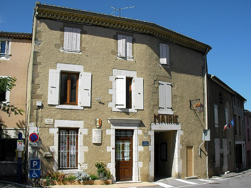 Town hall of Cornas (Ardèche/France)