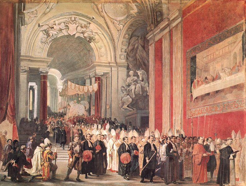 File:Corpus Christi Procession with Pope Gregory XVI in the Vatican.jpg