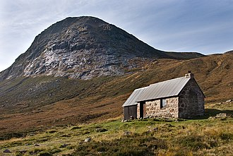 Cairngorms - Corrour Bothy in October 2009