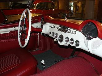 Chevrolet Corvette (C1) - 1954 Chevrolet Corvette.