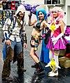 Cosplayers at Gamescom 2015 (20420927662).jpg