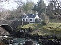 Cottage by Culag bridge, Lochinver - geograph.org.uk - 1022769.jpg