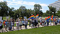 Counter protest for LGBT equality at a rally against same-sex marriage (4839269238).jpg