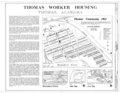 Cover - Thomas Worker Housing, Thomas, Jefferson County, AL HAER ALA,37-THOS,7- (sheet 1 of 2).png