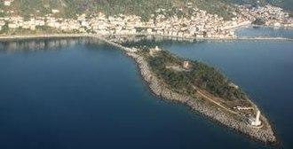 Cranae - View of the island of Cranae