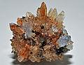 Creedite, fluorite, hématite 1.JPG