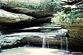 Creek at Old Man's Cave @ Hocking Hills State Park, Ohio - panoramio.jpg