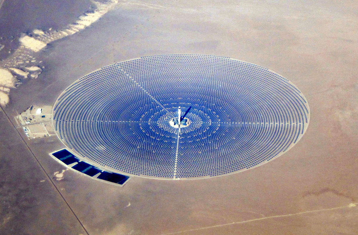 Concentrated Solar Power Wikipedia Oil Fired Plant Overview Diagram