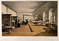 Crimean War; Florence Nightingale assessing a ward at the mi Wellcome V0015791.jpg