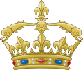 Crown of the Dauphin of France.svg