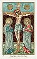 Crucifixion - Holy Cards - Lithographie Van de Vyvere-Petyt.jpg