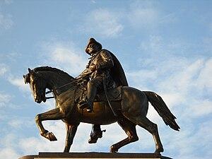 Sam Houston (sculpture) - Sam Houston in 2009