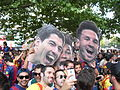 Culés de festa - Champions league 2015 Berlin.JPG