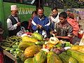 Cut Fruits Stall - Gangasagar Fair Transit Camp - Kolkata 2012-01-14 0841.JPG