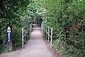 Cycle route 12 crosses a small bridge - geograph.org.uk - 2156233.jpg
