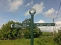 Cycleway Signpost - geograph.org.uk - 1323847.jpg