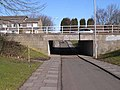 Cycleway underpass under Northumbrian Road - geograph.org.uk - 1734175.jpg