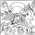 Dürer - Die Eule im Kampf mit anderen Vögeln.jpg