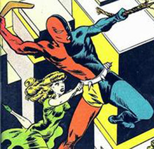 Daredevil (Lev Gleason Publications) - Image: DD Golden Age 5