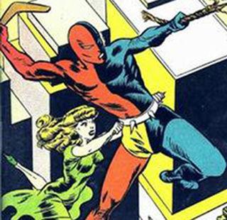 Daredevil (Lev Gleason Publications) American comic book superhero