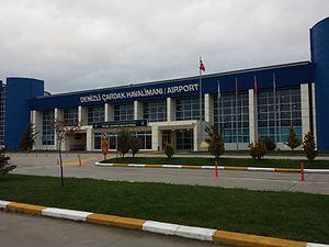 Denizli Çardak Airport - Image: DNZ Denizli Çardak Airport, Turkey 01
