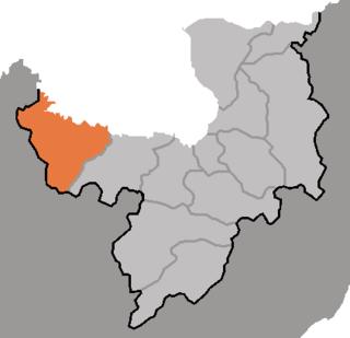 Kimhyongjik County County in Ryanggang, North Korea