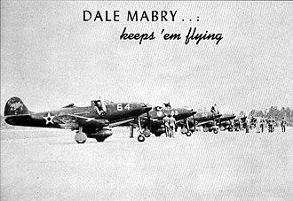Dale Mabry Army Airfield - P-39 Airacobras assigned for pilot training