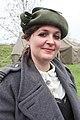 Dame verkleed tweede wereld oorlog bevrijdings festival Brielle.jpg