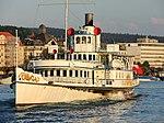 Dampfschiff Stadt Rapperswil - Bürkliplatz 2013-08-29 19-17-25 (P7700).JPG