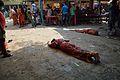 Dandi Performance around Panchananda Mandir - Narna - Howrah 2014-04-14 0305.JPG