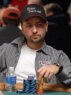 Daniel Negreanu Canadian poker player