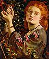 Dante Gabriel Rossetti - Hanging the Mistletoe.jpg