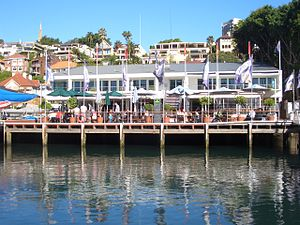 Rushcutters Bay, New South Wales - Image: Darling Point Cruising Yacht Club of Australia
