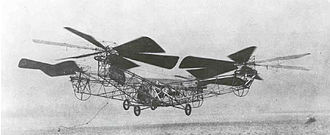 Quadcopter - de Bothezat helicopter, 1923 photo